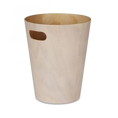 Umbra - Woodrow Kosz na śmieci drewniany naturalny