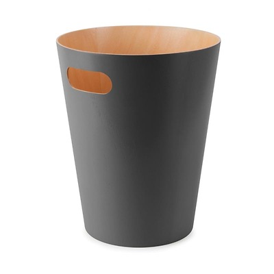 Umbra - Woodrow Kosz na śmieci drewniany szary