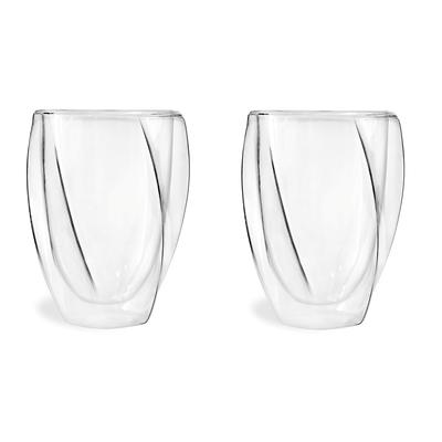 Vialli Design - Cristallo Zestaw 2 szklanek z podwójną ścianką