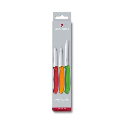 Victorinox - Swiss Classic Zestaw 3 noży do warzyw i owoców