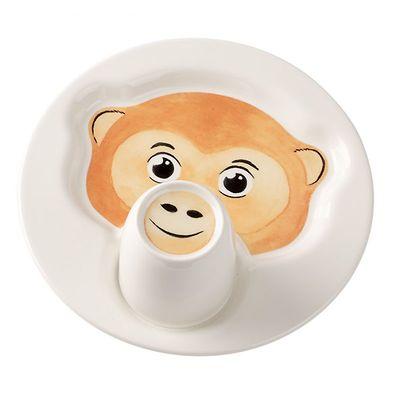 Villeroy & Boch - Animal Friends Zestaw dla dzieci Małpka
