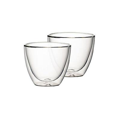 Villeroy & Boch - Artesano Hot Beve. New Zestaw Szklanek do kawy lub herbaty