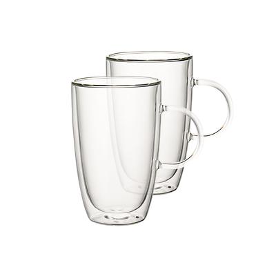 Villeroy & Boch - Artesano Hot Beve. New Zestaw Szklanek z uchem do latte