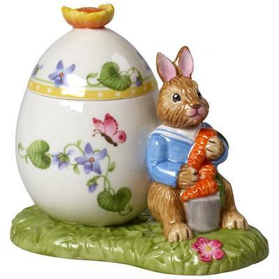 "Villeroy & Boch - Bunny Tales Figurka/Pudełeczko porcelanowe ""Króliczek Max"""