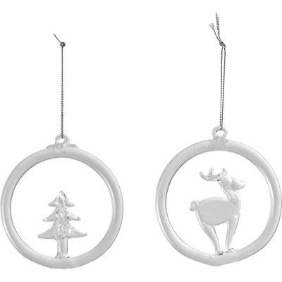 Villeroy & Boch - Christmas Decoration szklane zawieszki