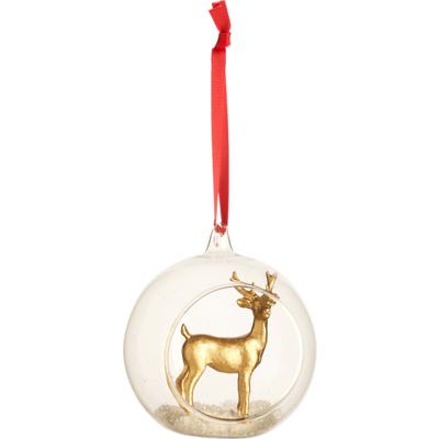 Villeroy & Boch - Christmas Toys 2019 Szklana bombka z reniferkiem