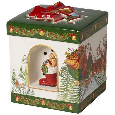 Villeroy & Boch - Christmas Toys  Lampion pudełko z pozytywką