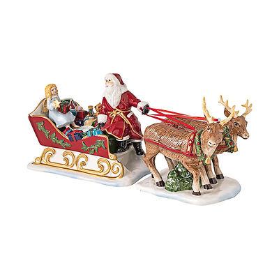 Villeroy & Boch - Christmas Toys Lampion Sanie św. Mikołaja z Aniołkiem