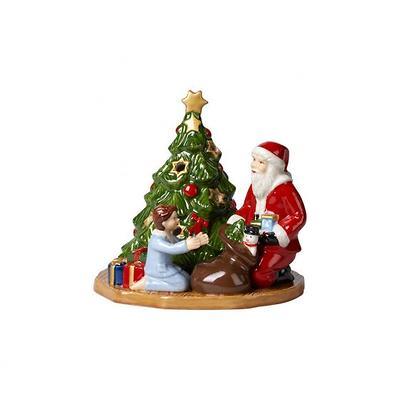 """Villeroy & Boch - Christmas Toys Lampion """" Św. Mikołaj wręczający prezenty"""""""