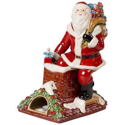 """Villeroy & Boch - Christmas Toys Memory Lampion """"Mikołaj na dachu"""""""