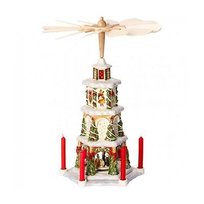 Villeroy & Boch - Christmas Toys Memory Świecznik Świąteczna Piramida