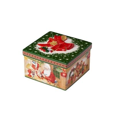 Villeroy & Boch - Christmas Toys Porcelanowe pudełko kwadratowe