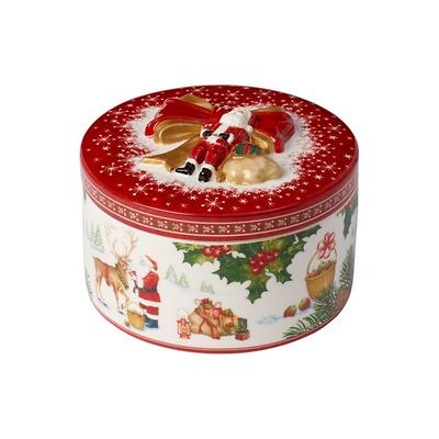Villeroy & Boch - Christmas Toys Porcelanowe pudełko okrągłe