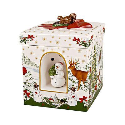 Villeroy & Boch - Christmas Toys Pozytywka kwadratowe pudełko prezentowe