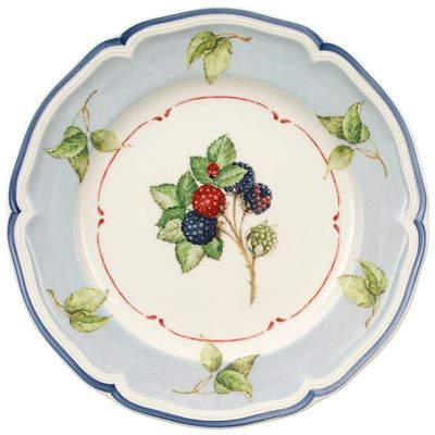 Villeroy & Boch - Cottage Talerz sałatkowy blue background