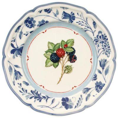 Villeroy & Boch - Cottage Talerz sałatkowy blue blackberry