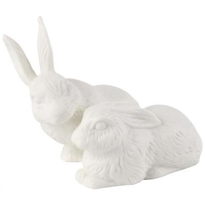 Villeroy & Boch - Easter Bunnies 2019 Figurka porcelanowa dwa zające