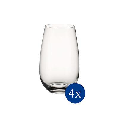 Villeroy & Boch - Entree Zestaw szklanek wysokich do wody, 4 sztuki