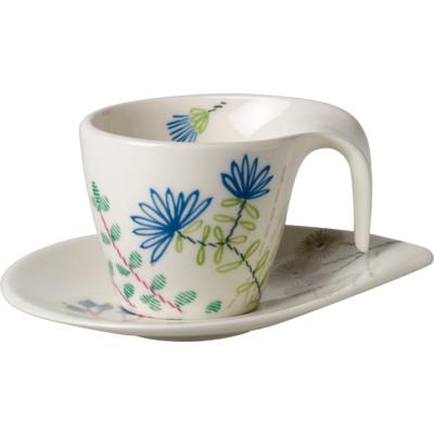 Villeroy & Boch - Flow  Couture  Filiżanka do espresso ze spodkiem