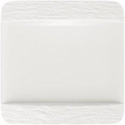 Villeroy & Boch - Manufac. Rock Blanc Kwadratowy talerz płaski