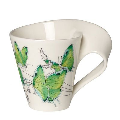 Villeroy & Boch - New Wave Caffe Butterfly Deep green hairstreak Kubek