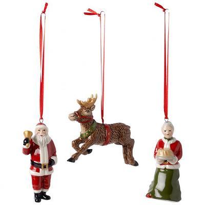 "Villeroy & Boch -  Nostalgic Ornaments Komplet 3 zawieszek ""North Pole Express"""