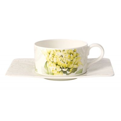Villeroy & Boch - Quinsai Garden Filiżanka do herbaty ze spodkiem