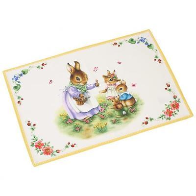 "Villeroy & Boch - Spring Fantasy 2019 Podkładka na stół ""Rodzina króliczków"""