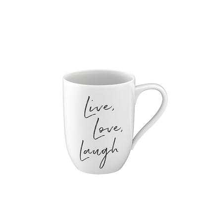 "Villeroy & Boch - Statement Kubek ""Live, Love, Laugh"""