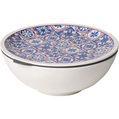Villeroy & Boch - To Go Indigo Porcelanowy pojemnik na lunch/przekąski