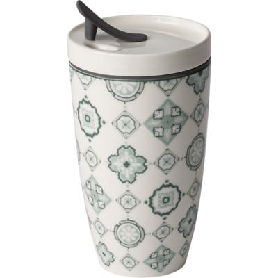 Villeroy & Boch - To Go Jade Porcelanowy kubek do kawy lub herbaty na wynos