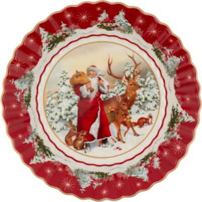 Villeroy & Boch - Toy's Fantasy Miska św. Mikołaj i leśne zwierzęta