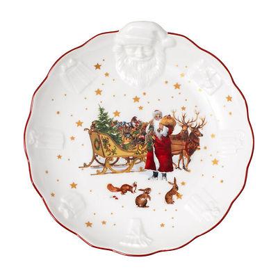 Villeroy & Boch - Toy's Fantasy  miska z wypukłym wzorem św. Mikołaja nostalgia