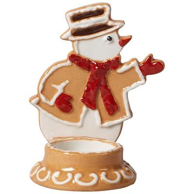 "Villeroy & Boch - Winter Bakery Decoration 2019 Świecznik ""Bałwanek z piernika"""