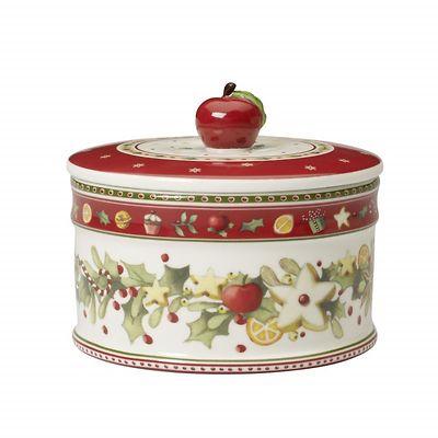 Villeroy & Boch - Winter Bakery Delight Średnie pudełko na ciastka OUTLET
