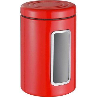 Wesco -  Pojemnik z okienkiem, czerwony