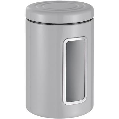 Wesco -  Pojemnik z okienkiem, szary