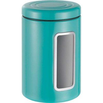 Wesco -  Pojemnik z okienkiem, turkusowy