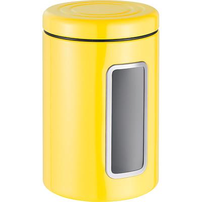 Wesco -  Pojemnik z okienkiem, żółty