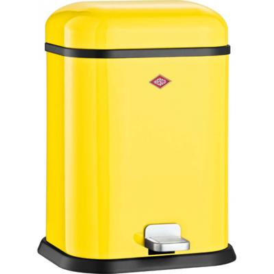 Wesco - Single Boy kosz na śmieci, żółty
