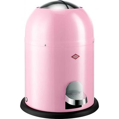 Wesco - Single Master kosz na śmieci, różowy
