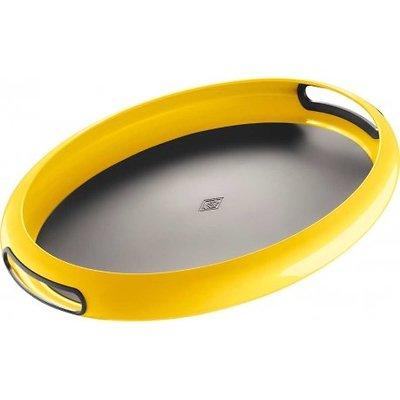 Wesco -  Spacy taca owalna, żółta