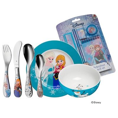 """WMF - """"Frozen"""" Zestaw obiadowy dla dzieci z przyborami szkolnymi"""