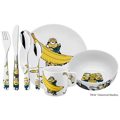 WMF - Minionki Zestaw obiadowy dla dzieci z kubkiem