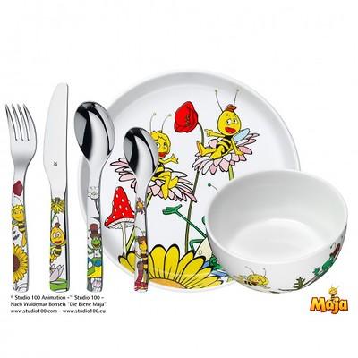 """WMF - """"Pszczółka Maja"""" Zestaw obiadowy dla dzieci"""