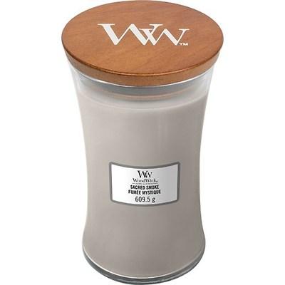 WoodWick - Świeca duża Sacred Smoke