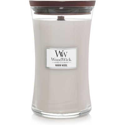 WoodWick - Świeca duża Warm Wool