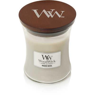 WoodWick - Świeca mała Warm Wool