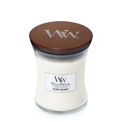 WoodWick - Świeca średnia Island Coconut