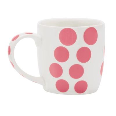 Zak! designs - Dot Porcelanowy kubek różowy
